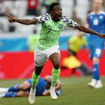 Ahmed Musa's goal against Iceland ranked 8th