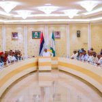 President meets APC senators hours after Melaye, Kwankwaso exit from party