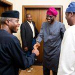 VP Osibanjo Denies Endorsing Sanwo-Olu For APC Lagos Governorship Ticket