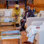 President Buhari Hosts Pastor Kumuyi & Wife During The Independence Day Celebrations (Photos)