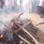 Mob sets three suspected robbers ablaze in Akwa Ibom