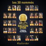 Full list of the 30 nominees for the 2018 Ballon d'Or