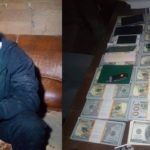 Nigerian Man Arrested With Fake Dollars In Kenya, Says He Wants To Use It For Movie (PHOTOS)