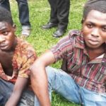 Robbers Busted After Robbing A Policeman Of His Pistol In Edo