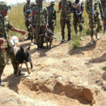 Military uncovers open shallow grave of General, body still missing