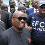 Wike, FFK, Ozekhome accompany Fayose to EFCC office (PHOTOS & VIDEO)