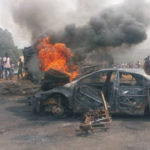 How Tanker Fire Roasted A Woman And Her 2 Kids Alive On Their Way From Church In Ondo