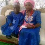 Trending Photos of a Nigerian Dwarf who got married to his tall sweetheart.