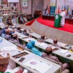 Muhammadu Buhari tasks APU to evolve new strategies to tackle terrorism, banditry (PHOTOS)