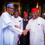 2019 presidency: PDP reacts to Buhari's meeting with South East Governors, Ekweremadu