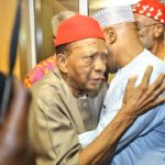 'I will not die until you become president' – Prof Ben Nwabueze tells Atiku