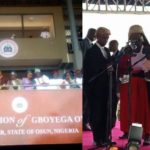 Gboyega Oyetola sworn in as the new Governor of Osun State (photos & video)