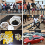 EFCC arrests 36 'yahoo boys', recovers 300 sims, charm