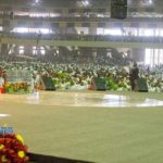 More photos from the dedication of Dunamis' 100,000 capacity auditorium