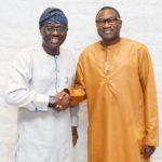 Billionaire Businessman, Otedola Endorses Sanwo-Olu