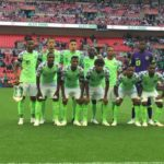AFCON QUALIFIERS: Okowa Watch Super Eagles Train In Asaba