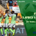 BREAKING: Super Eagles draw South Africa to qualify for 2019 AFCON