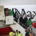 Super Eagles Stars Arrive Delta State After Qualifying For Africa Cup Of Nations (Photos)