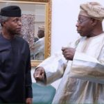 2019: Obasanjo speaks on meeting Osinbajo behind closed door