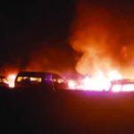Gas tank explosion kills 42 passengers in Zimbabwe