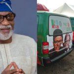 2019: Akeredolu donates 18 buses for Buhari's campaign