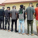 EFCC Parades 10 'Yahoo Boys' For Impersonating American Soldiers