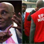 PDP reacts as EFCC reportedly invades homes of Atiku Abubakar's sons