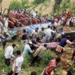 20 feared dead as passenger bus fell into gorge in Nepal