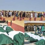 Metele Attack: Nigerian Army Buries 19 Soldiers (PHOTOS)
