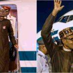 President Buhari arrives Abuja from Poland (Photos)