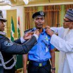 BREAKING: PMB Decorates New IGP Abubakar Adamu As He Takes Over [PHOTOS]