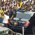 Plateau APC rally: How Buhari was smuggled out of campaign venue, failed to address supporters