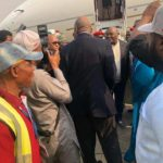 BREAKING: Atiku lands in Abuja after US visit (PHOTOS)