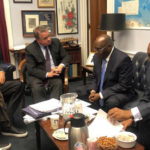 Photos: Atiku Abubakar visits US Congressman Smith
