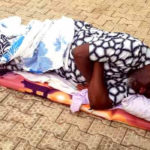 PHOTOS: Drama As Dino Melaye Refuses To Enter DSS Hospital……Sleeps On Bare Floor