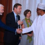 Buhari Receives A Delegation Of European Union In Aso Rock Today (photos)