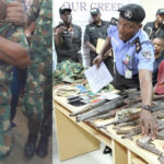 Checkout Arms Recovered From Robbery Gang Led By Fake Soldier (Photos)