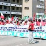 Minimum wage protest: NLC vows not to go into negotiation with F.G