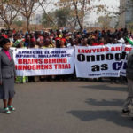 Onnoghen's Suspension: Pro-Buhari's protesters hold counter protest in Abuja