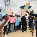 Protesters give Buhari one week to recall suspended CJN Onnoghen (PHOTOS)