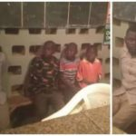 Suspected kidnapper caught with three children in Taraba state (PHOTOS)