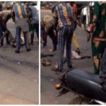 Trailer crushes Ogun (god of Iron) worshipers in Ibadan