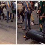 Trailer crushes Ogun (god of Iron) worshipers in Ibadan