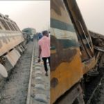 Train derails at Mangoro along Lagos -Abeokuta Expressway (PHOTOS)