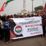 NLC begins nationwide protests over minimum wage