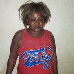 Face Of Woman, Dorathy Caught Red-handed Stealing A Newborn Baby In Anambra Hospital