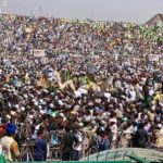 Massive Crowd Came Out To See Buhari As He Campaigns In Kano (Photos)