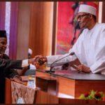 BREAKING: President Buhari Suspends CJN Walter Onnoghen, Appoints Tanko Muhammed [PHOTOS]
