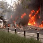 New Year's Eve Tragedy: Eight burnt to death in Ondo road accident