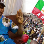 MC Oluomo Stabbed In The Neck At Lagos APC Governorship Rally (PHOTOS)
